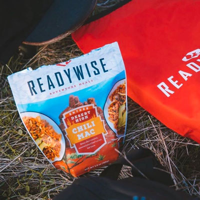 Open pack of campfire chili mac