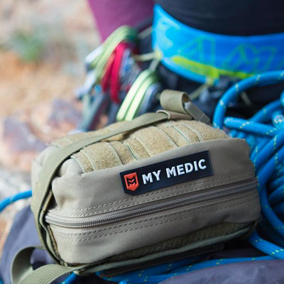 MyMedic Kit With Rock Climber