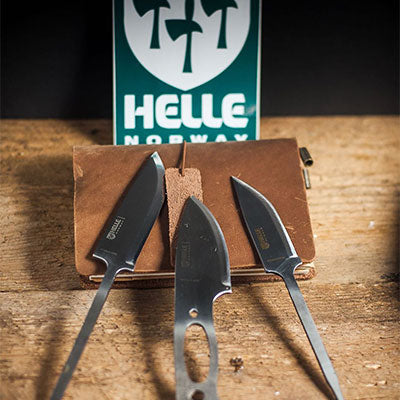 Helle knives without handles