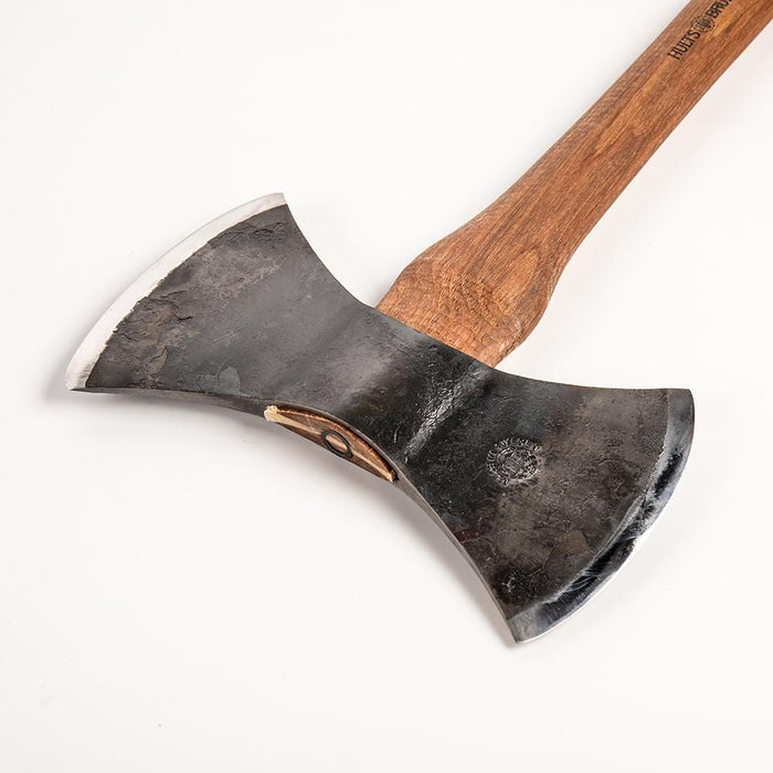 The Motala double bit Throwing Axe by Hults Bruk