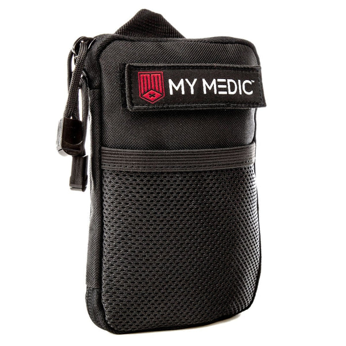 The Solo: Basic mini first aid kit (BLACK) by MyMedic