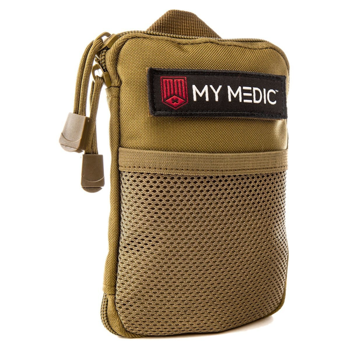 The Solo: Advanced mini first aid kit (COYOTE) by MyMedic