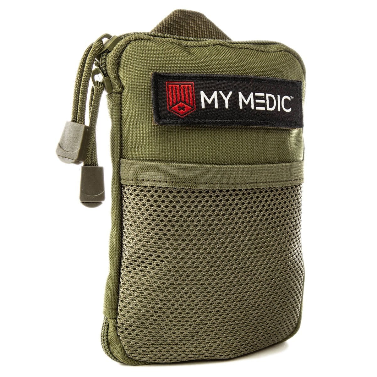 The Solo: Advanced mini first aid kit (GREEN) by MyMedic