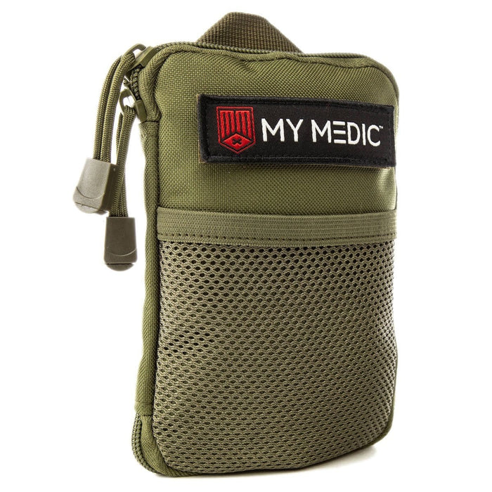 The Solo: Basic mini first aid kit (GREEN) by MyMedic
