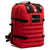 The Medic: Advanced first aid and trauma kit tactical backpack (RED)