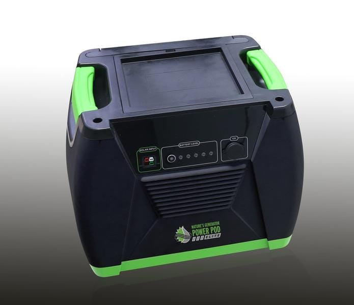 Nature's Generator Power Pod ELITE solar battery backup