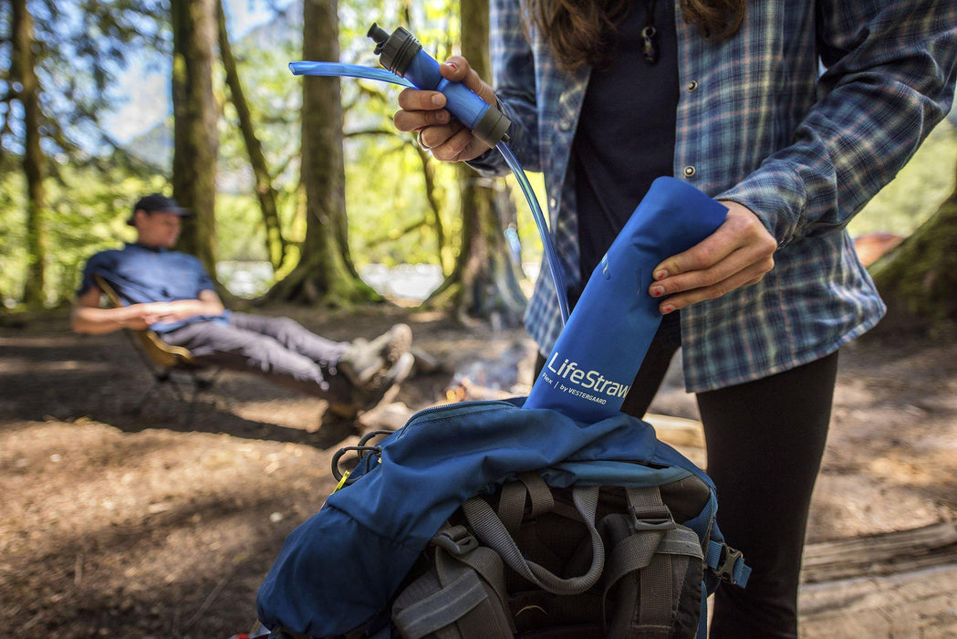 Overlanding with the LifeStraw Flex filter + 1 Gallon Gravity Bag Survival Water Filtration System