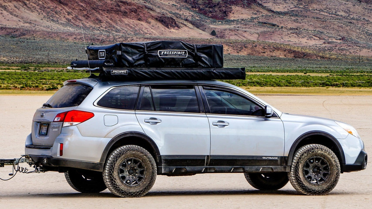 "High Country 55"" Roof Top Tent on my Subaru"