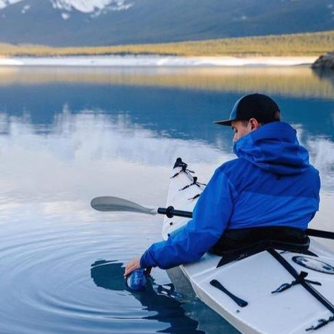 Using the LifeStraw Go Large [34 oz. Water Filter Bottle] on a kayak