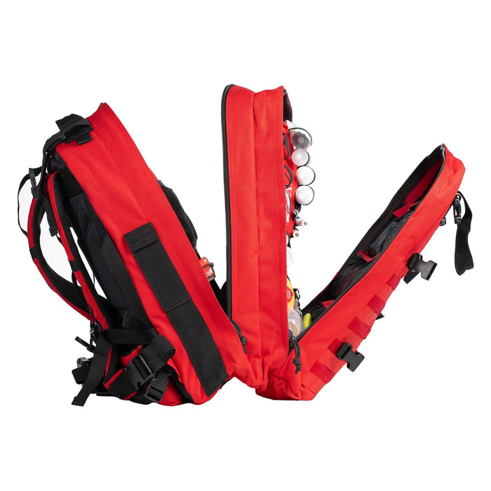 Segments of The Medic: Basic first aid and trauma kit tactical backpack