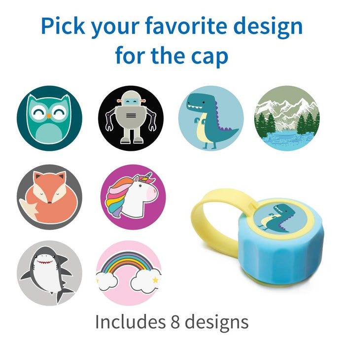 LifeStraw Play Kids Water Filter Bottle cap stickers