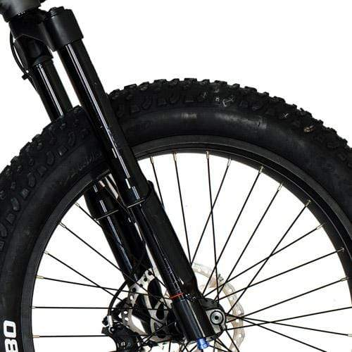 JEEP® Fat Tire Electric Mountain Bike [1000W] by QuietKat