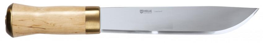 The Lappland all purpose camp knife and mini machete from Helle @ Tredless.com