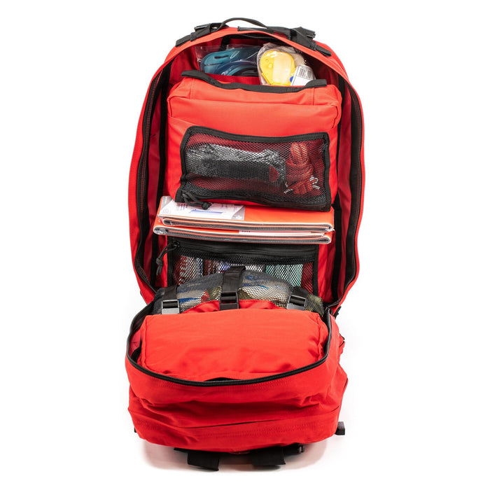 Compartments within The Medic: Advanced first aid and trauma kit tactical backpack