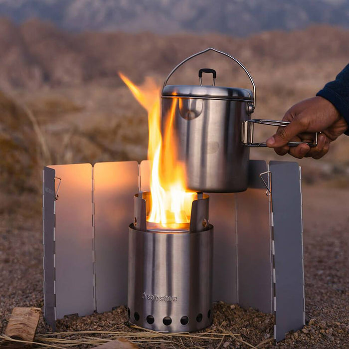 Solo Stove Windscreen for LITE and TITAN wood burning camp stoves