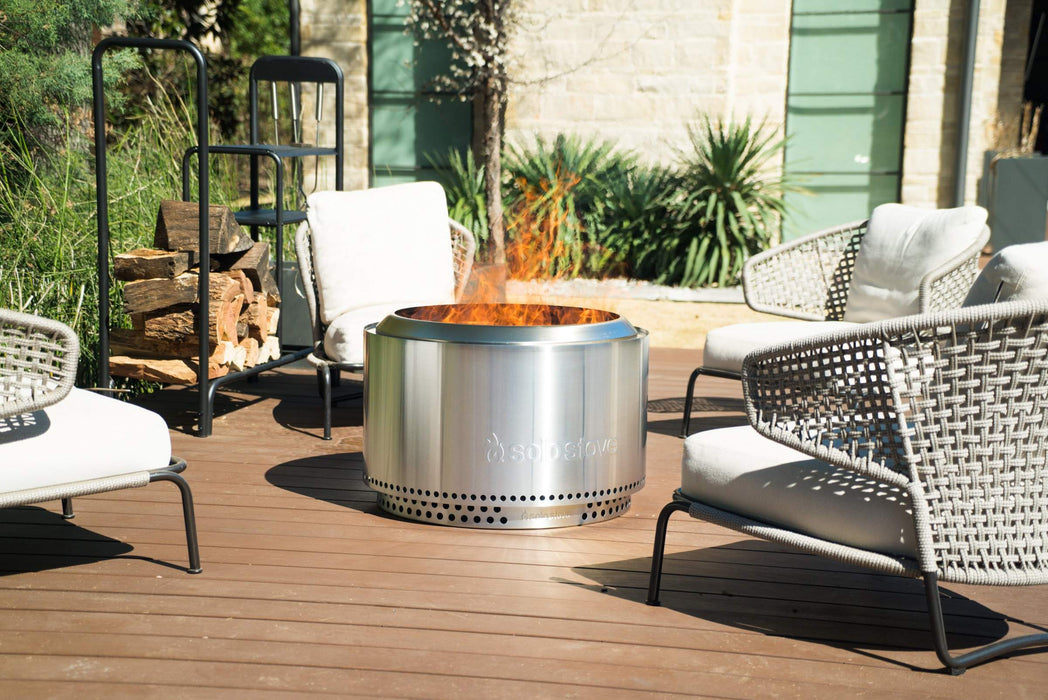 Solo Stove YUKON Smokeless Fire Pit and Stand