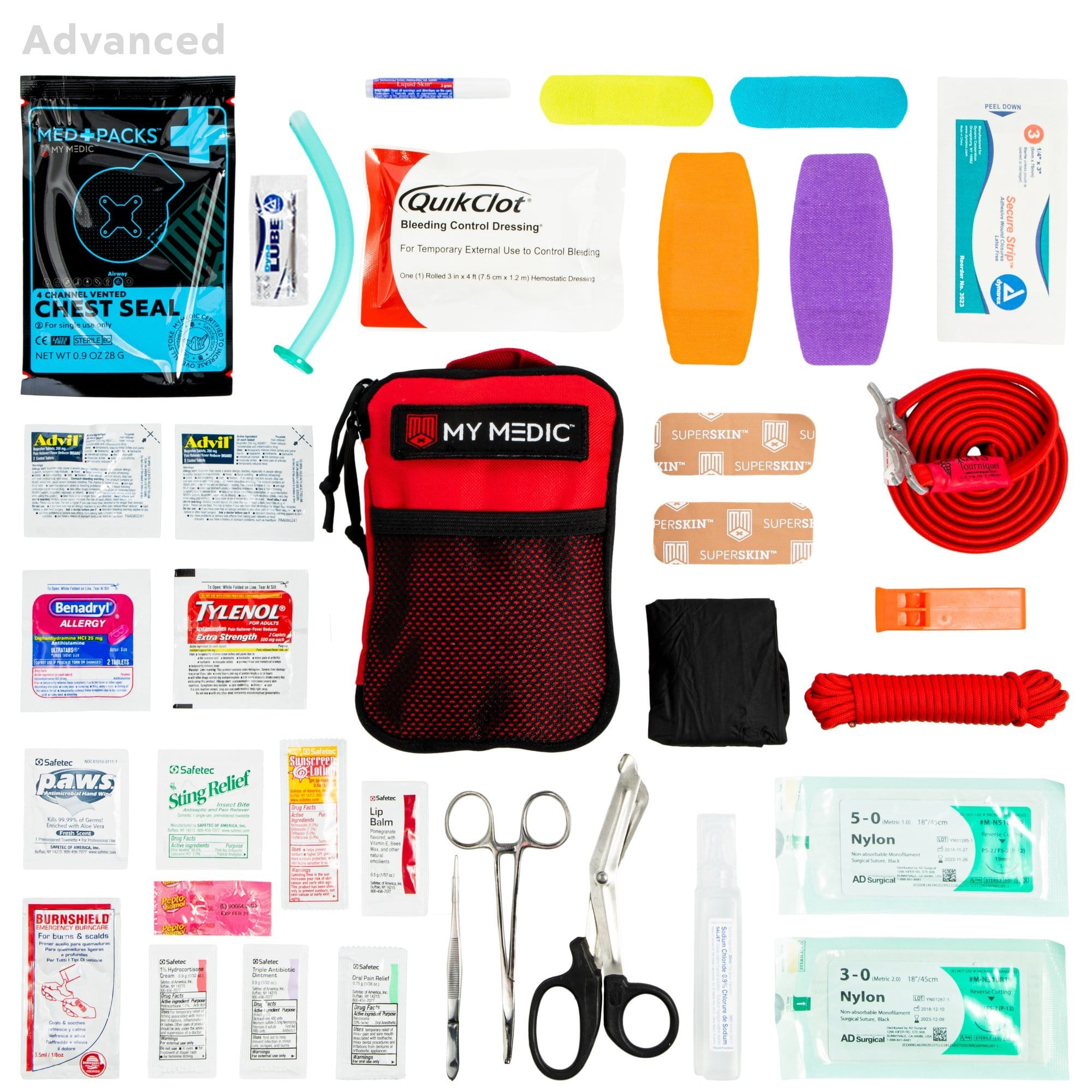The Solo: Advanced [Mini First Aid Kit]