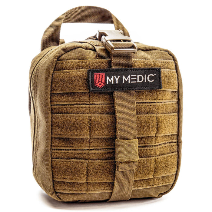 MyFAK: Basic Individual First Aid Kit [IFAK] by MyMedic (color: COYOTE)