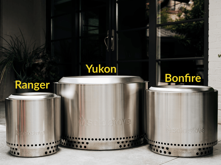 The Solo Stove Smokeless Fire Pit Lineup: Ranger, Yukon and Bonfire