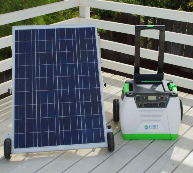 Nature's Generator Gold Bundle solar panel kit