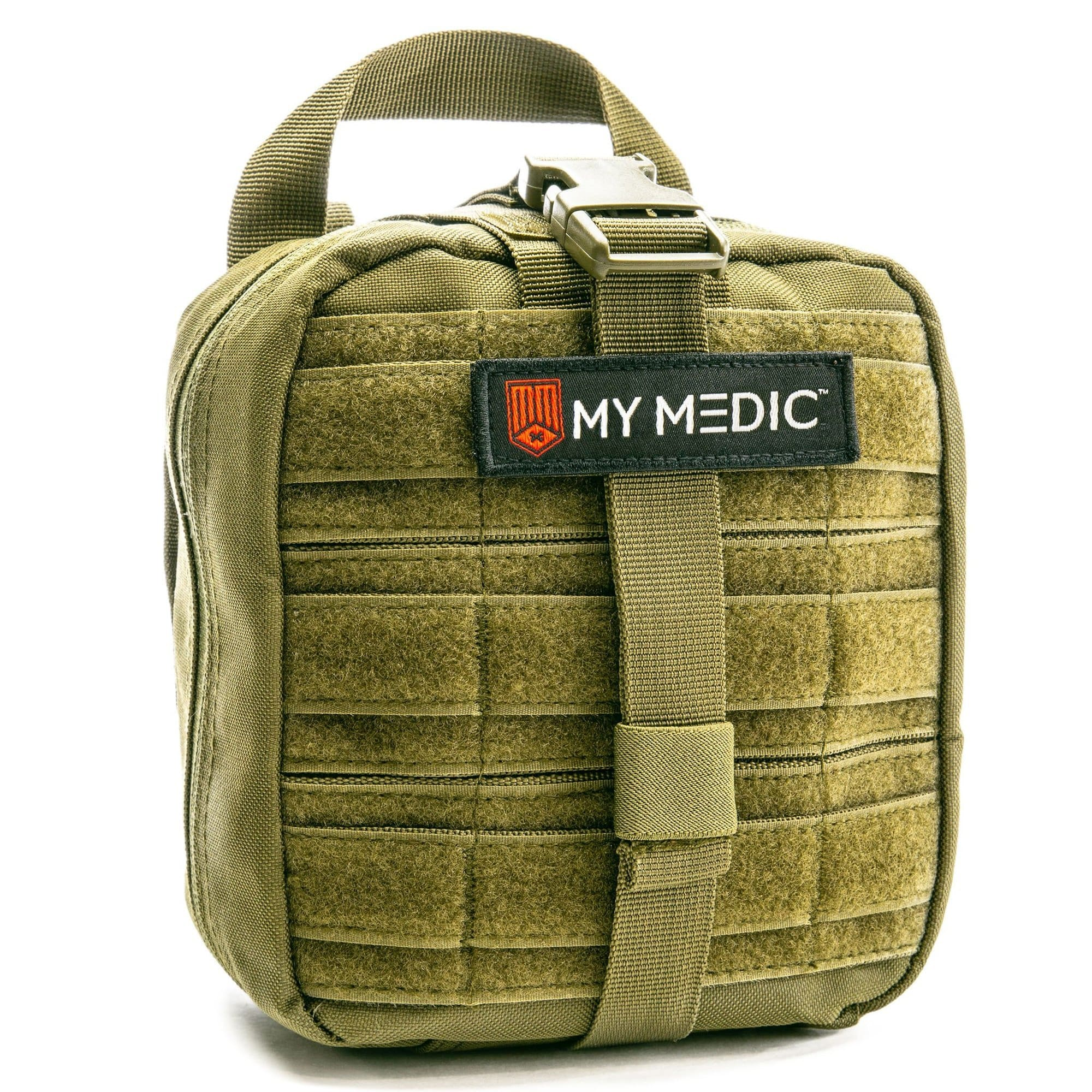 MyFAK: Basic Individual First Aid Kit [IFAK] by MyMedic (color: GREEN)