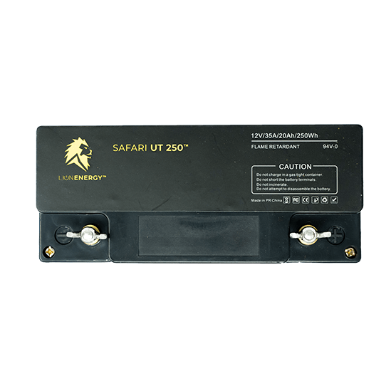 Safari UT 250 12V Lithium Ion Battery by Lion Energy