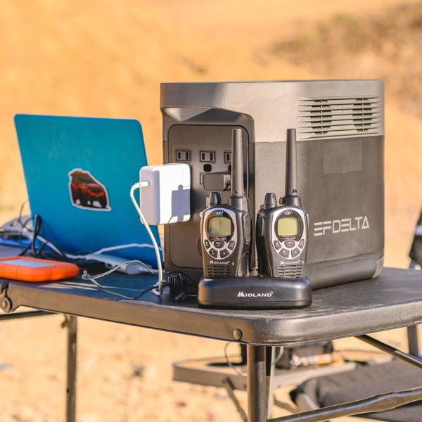 EcoFlow DELTA 1300 [Solar Powered Generator and Portable Battery] & ONE Portable Solar Panel
