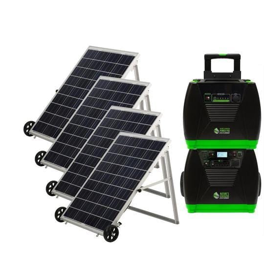 Nature's Generator ELITE PLATINUM Solar Powered Generator Kit
