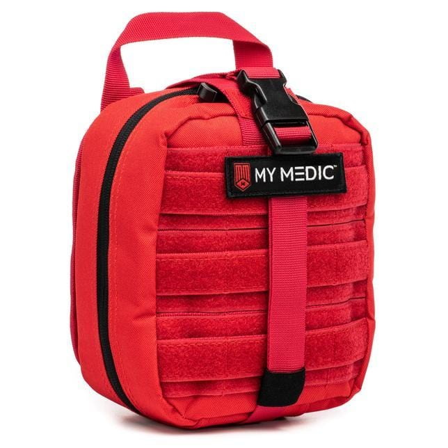 MyFAK: Basic Individual First Aid Kit [IFAK] by MyMedic (color: RED)