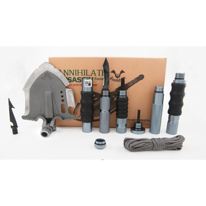 "Annihilate F3 ""Assassin Fanatic"" tactical shovel and bushcraft toolkit"