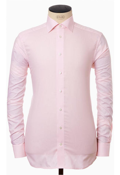 Alan Pink Micro Check Shirt Eton Man