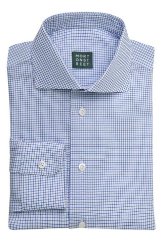 Alley Blue Check Shirt Morton Street