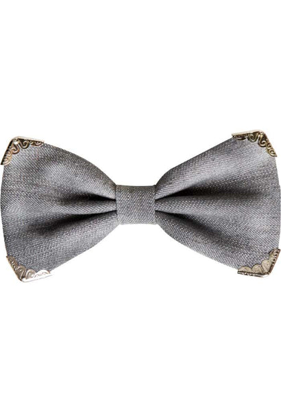 BEN Grey denim bowtie Goletz