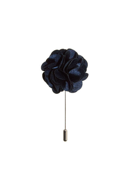 Blue Daisy Lapel Flower