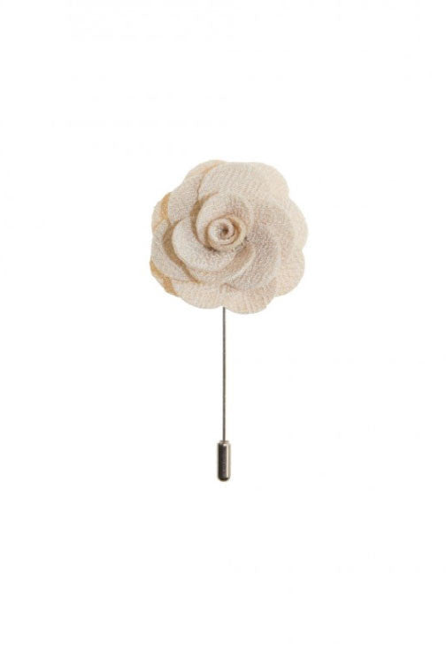 Powder Rose Lapel Flower Von Floerke