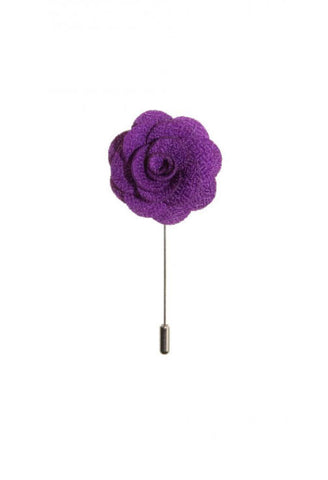 Purple Rose Lapel Flower Von Floerke