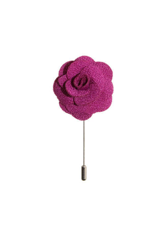 Pink Rose Lapel Flower Von Floerke