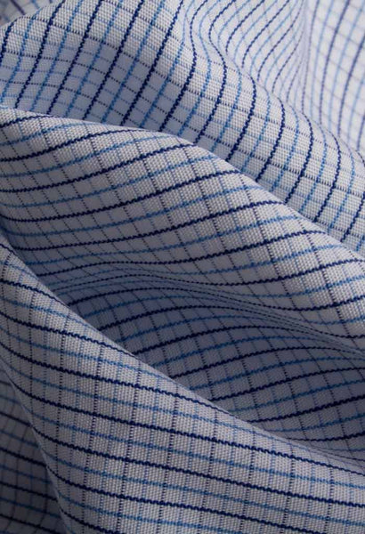 Castor Check Shirt Morton Street Fabric Folded