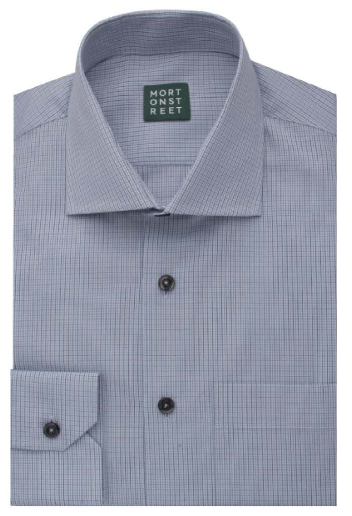 Castor Check Shirt Morton Street Folded
