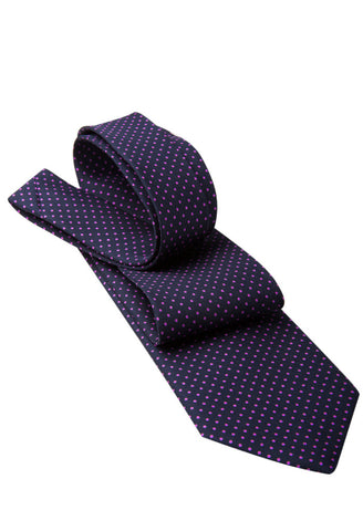 Cavour & Cobs Majella Pink Tie Folded