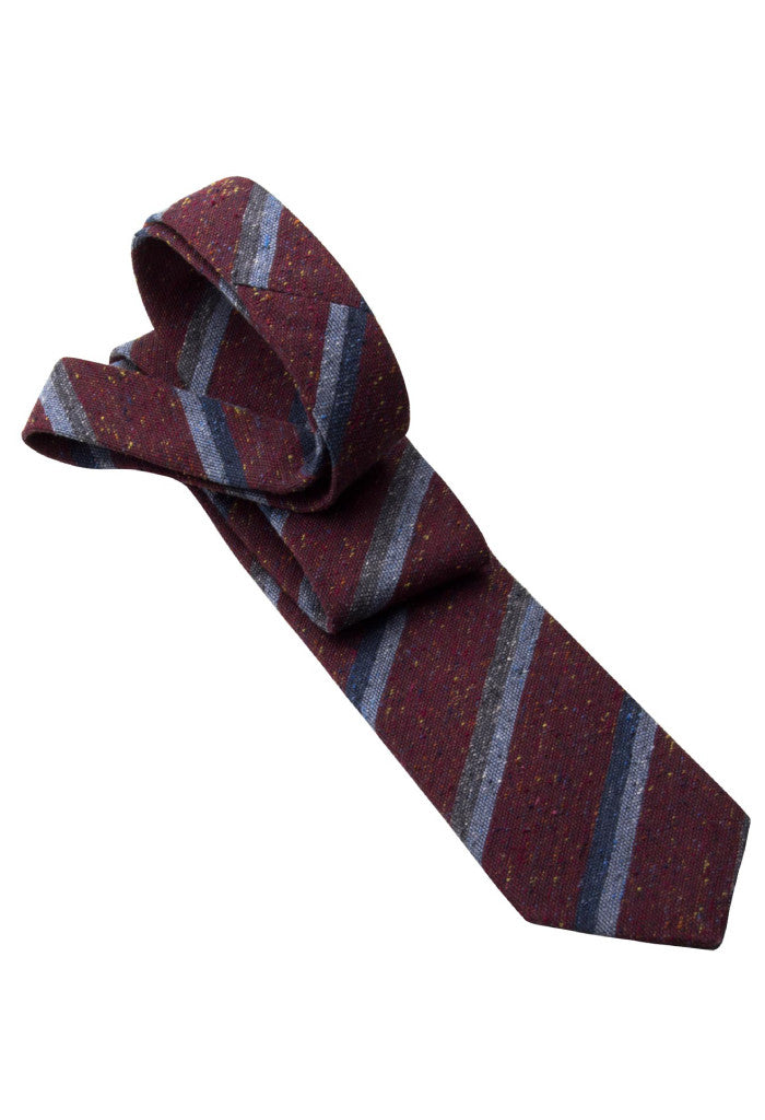 Cavour & Cobs College Tie Folded