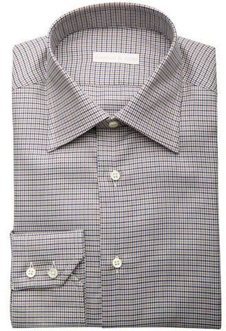Ditali Houndstooth Shirt Cavour & Cobs Folded