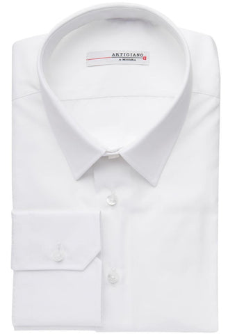 Doubs White Shirt Artigiano Folded