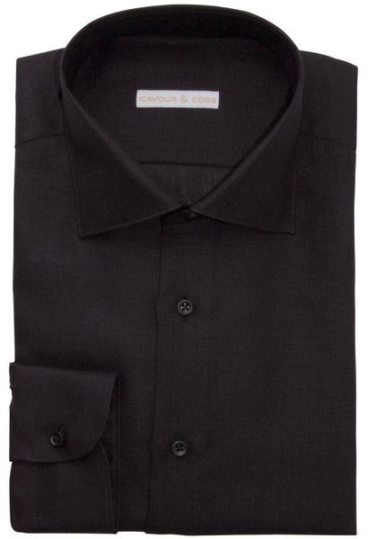 Imperia Black Shirt Cavour & Cobs Folded
