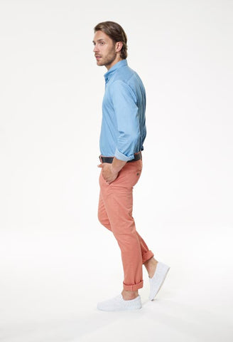 Filini Light Blue Denim Shirt