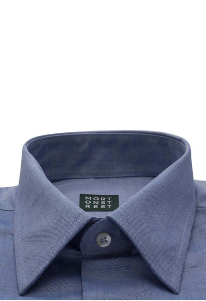 Nobilis Blue Shirt Morton Street Collar