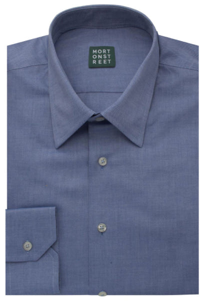 Nobilis Blue Shirt Morton Street Folded