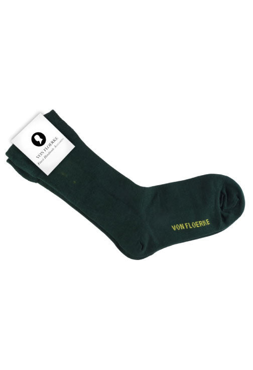 Green business socks Von Floerke