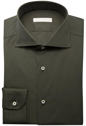 Torchio Olive Shirt Cavour & Cobs Folded