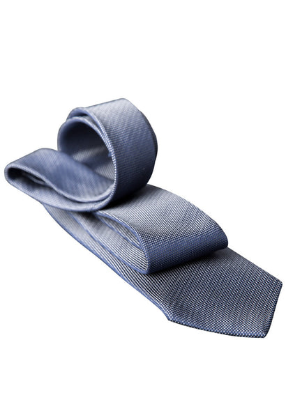Van Laack Light Blue Tie Folded